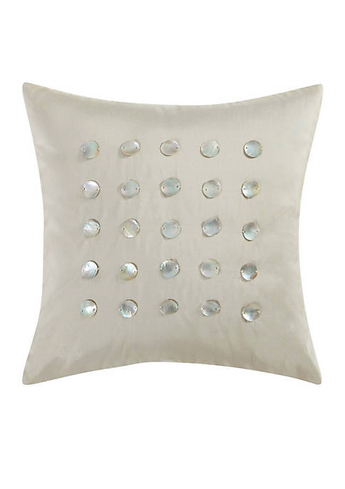 Charisma Home Bellissimo 20-inch Square Decorative Pillow