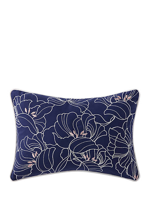 Oceanfront Resort Indienne Paisley Embroidered Floral Decorative