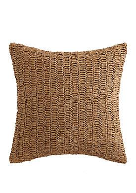 Coco Paradise Raffia Decorative Pillow
