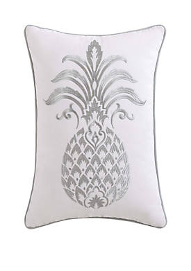 Tropical Plantation Pineapple Pillow