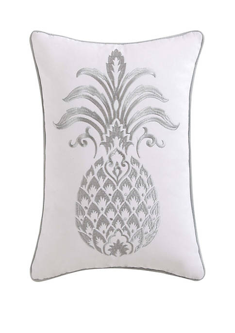 Tropical Plantation Pineapple Pillow