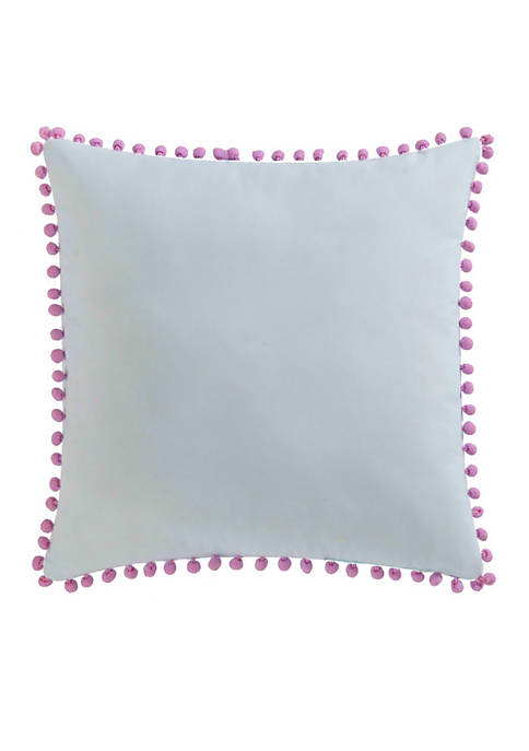 My World® Unicorn Princess Pom Pom Pillow