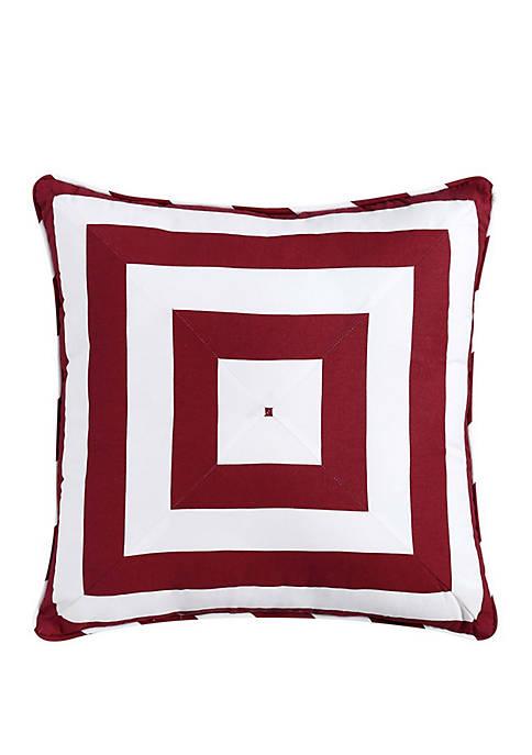 Nautical Charm Geometric Pillow
