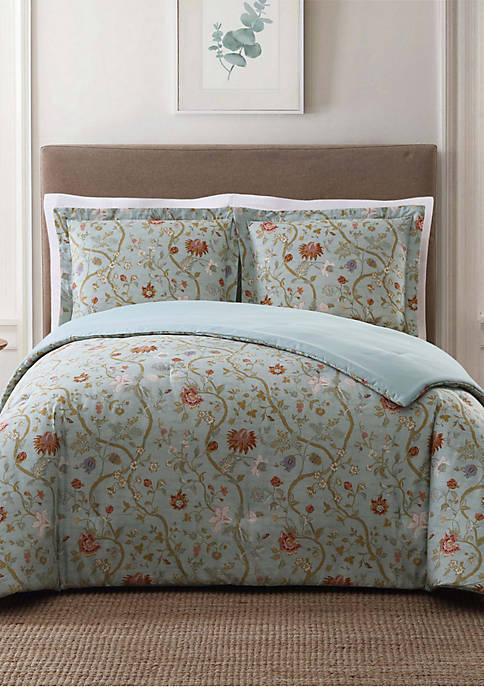 Bedford Blue Full/Queen XL Comforter Set