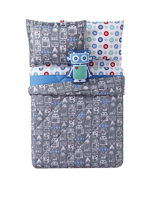 Roboto Printed Twin XL Comforter Set