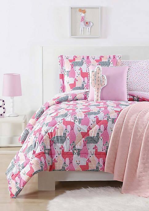 My World® Llama Llama Printed Full/Queen Comforter Set