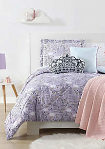Unicorn Princess Printed Full/Queen Comforter Set