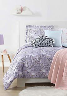 Unicorn Princess Printed Twin XL Comforter Set