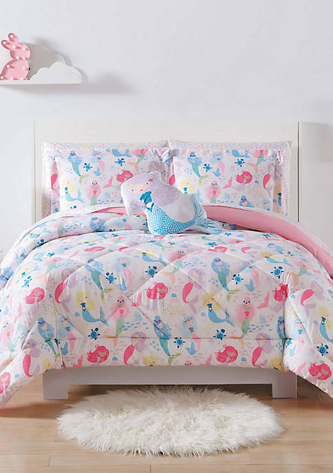 My World® Mermaids Twin/Twin XL 2-Piece Comforter Set