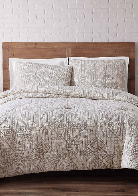 Brooklyn Loom Sand Washed Duvet Set
