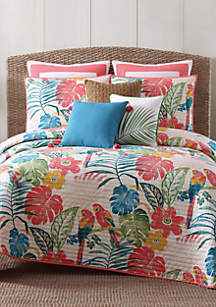 Oceanfront Resort Coco Paradise Full/Queen Duvet Set