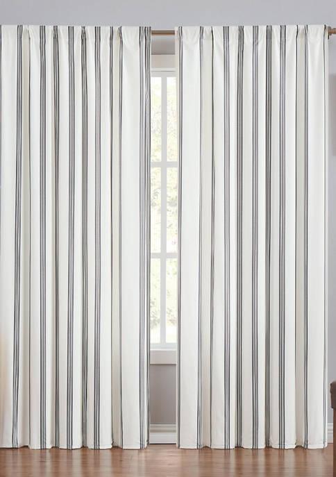 Millenial Stripe Window Panel