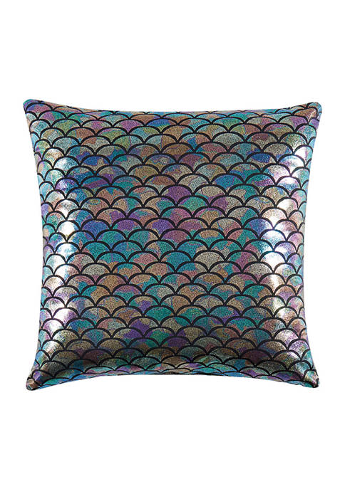 Material Girl Mermaid Ombre Decorative Pillow