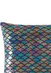 Mermaid Ombre Decorative Pillow