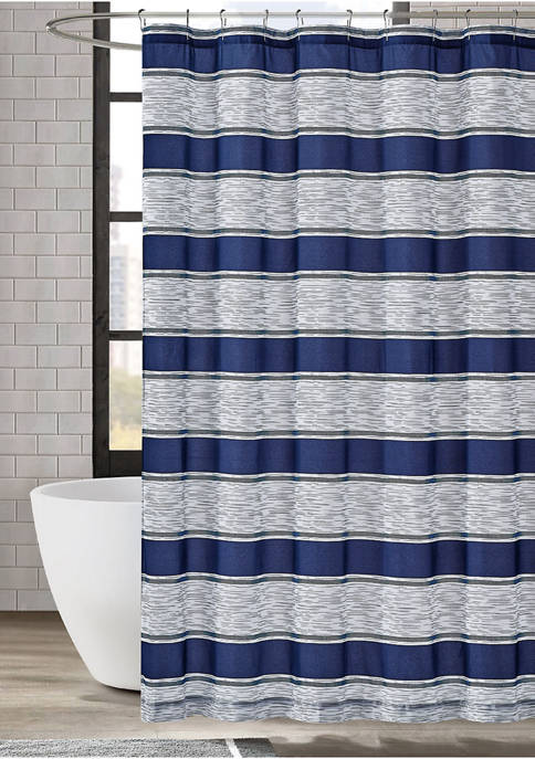 American Traditions™ Watkins Stripe Shower Curtain