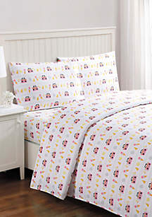 Animal Party Queen Sheet Set