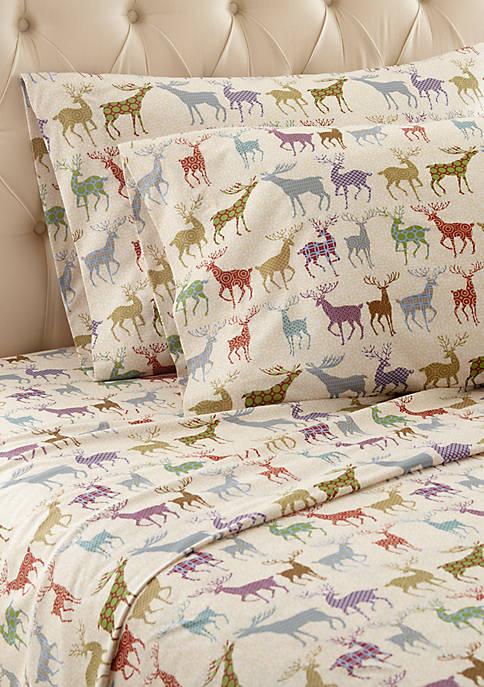 Colorful Deer Sheet Set
