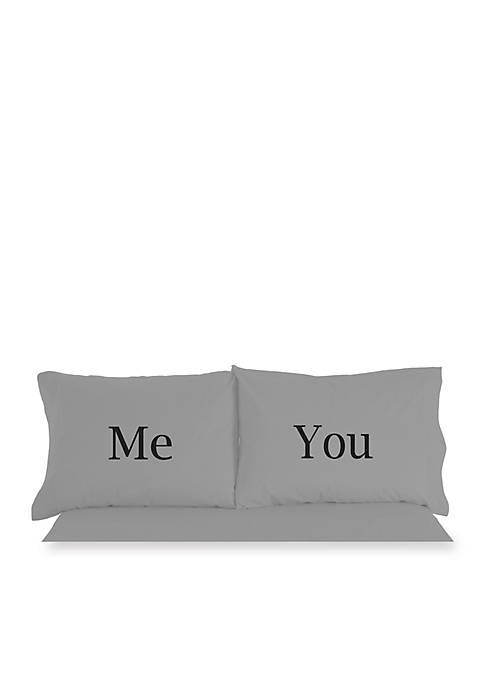 Shavel Micro Flannel Me And You Inspirational Novelty