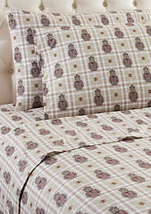 Micro Flannel Grizzly B. Cool Sheet Set