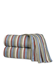 Shavel Micro Flannel® Awning Stripe Sheet Set - Online Only