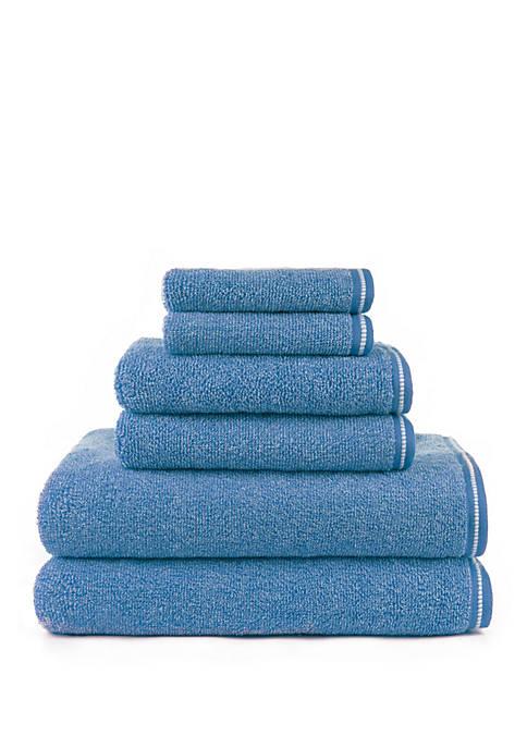 Hyped Gratzee Mingled 6 Piece Bath Towel Set
