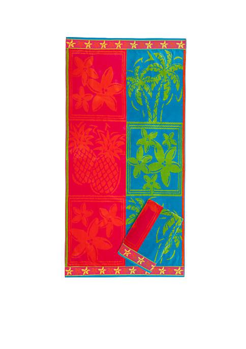 Dee-Lights Beach Towel - Set of 2