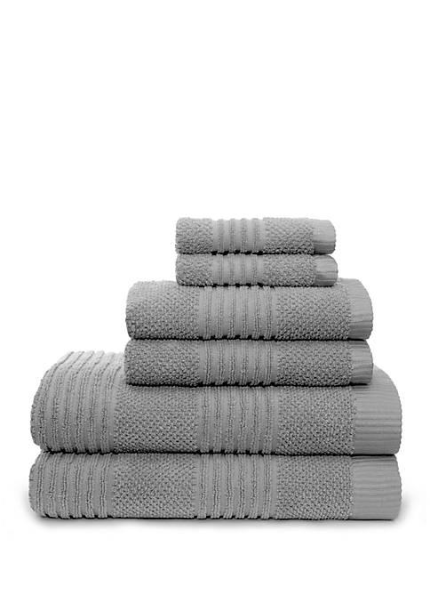 American Dawn Dillon 6 Piece Bath Towel Set