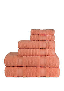 American Dawn Grace 6 Piece Bath Towel Set