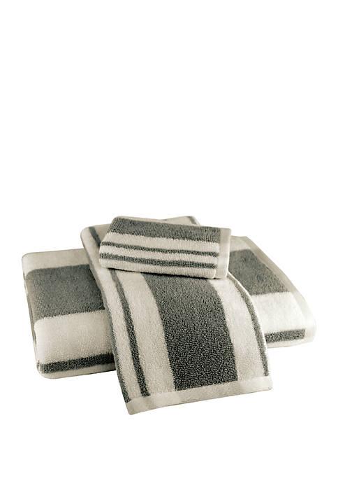 American Dawn 3-Piece Hamilton Stripe Towel Set