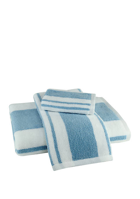 American Dawn 3-Piece Hamilton Stripe Towel Set