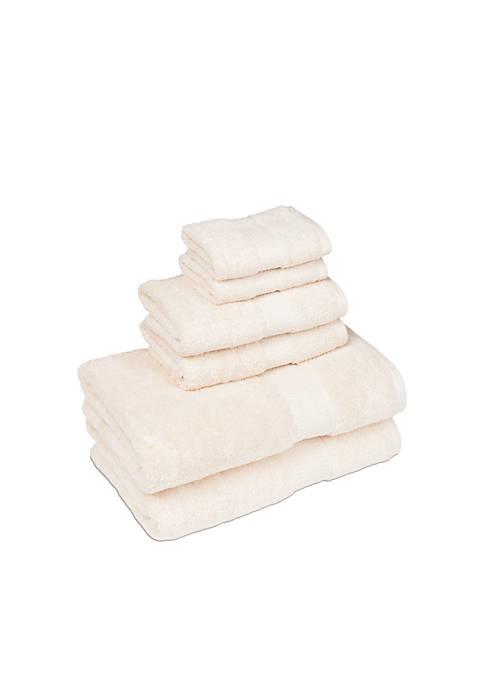 American Dawn Organic 6-Piece Towel Set