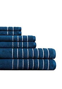 Burke Six-piece Towel Set