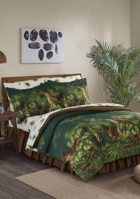 Cheetah Comforter Set