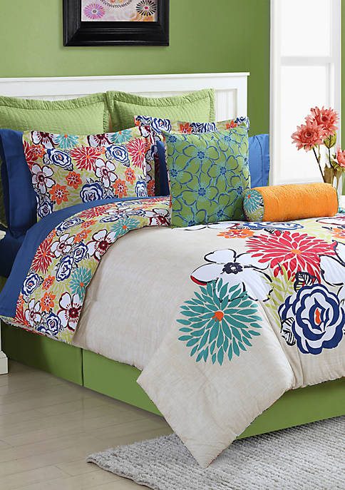 Fiesta® Lucia Full Comforter Set 84-in. x 90-in.