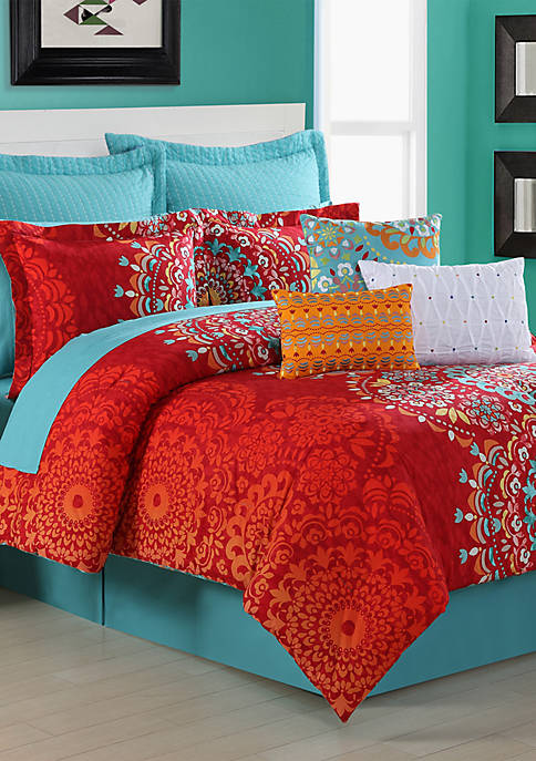 Fiesta® Cozumel Twin Comforter Set 68-in. x 90-in.