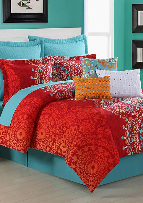 Fiesta® Cozumel Twin Comforter Set 68-in. x 90-in.