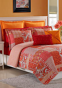 Marchia Twin Quilt Set