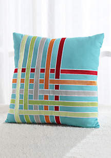FIESTA KYLA DEC PLW100 % Cotton Decorative Pillow 20 inch square
