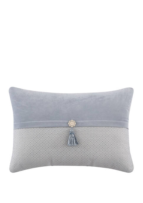 Brielle Oblong Pillow with Tassel