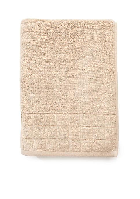 d959b981b1 Calvin Klein. Calvin Klein Sculpted Grid Bath Towel ...
