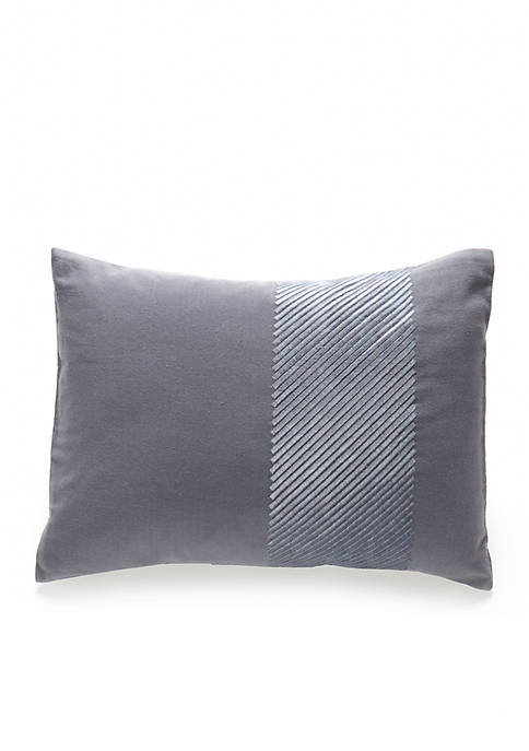 Calvin Klein Palisades Twill Cord Pillow 12-in. x