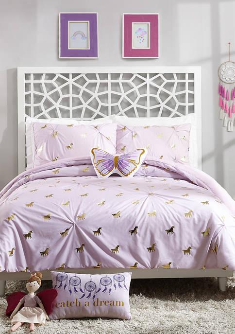 Fiona Unicorn Comforter Set
