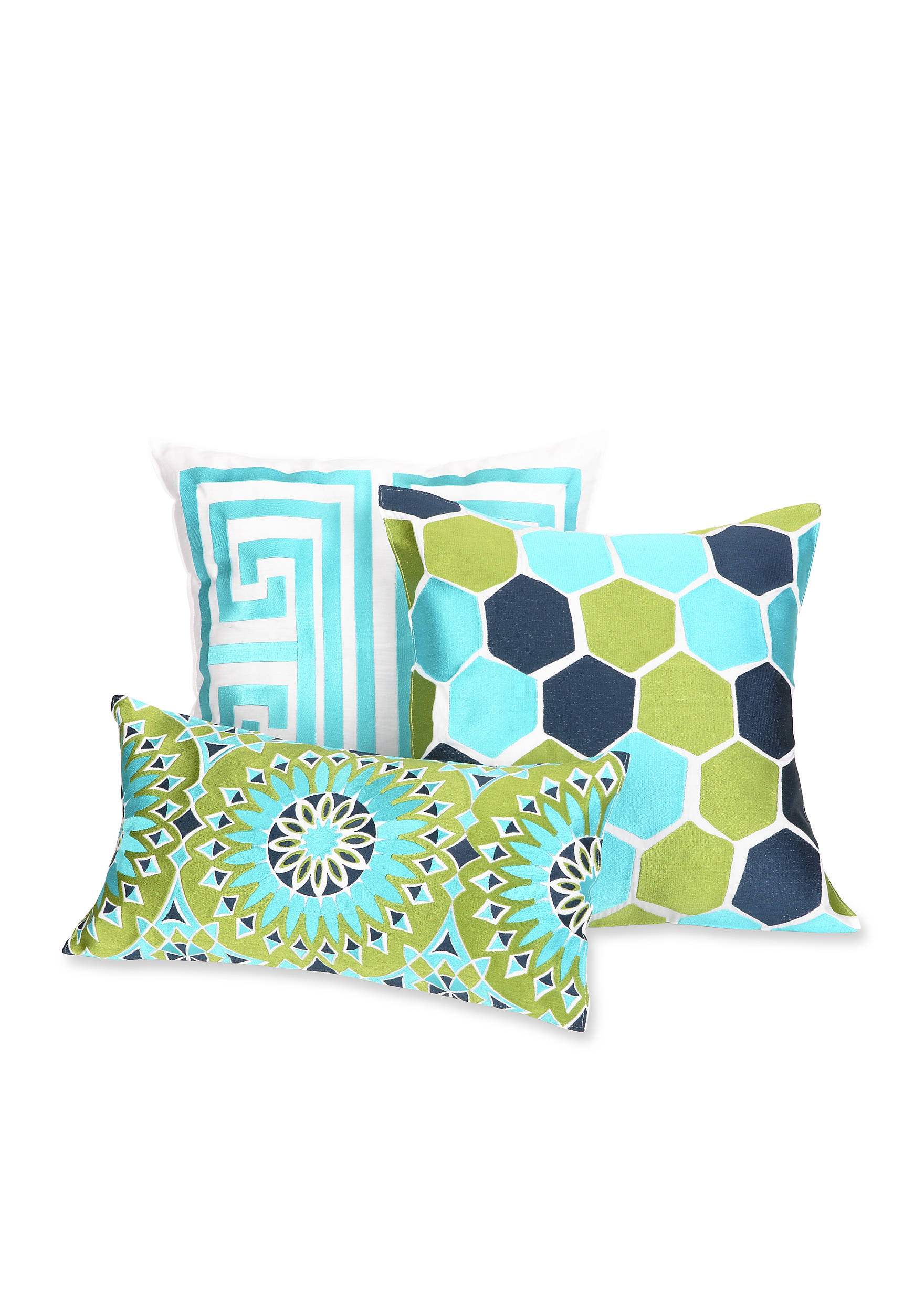turk pillow pisces punch trina in print pillows