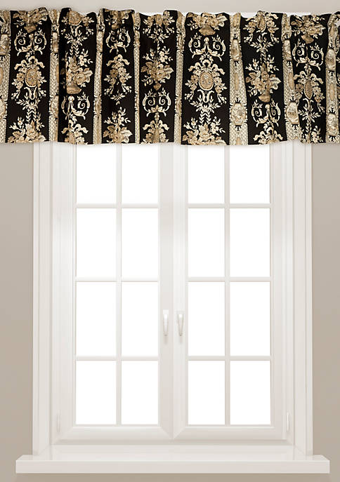 Rose Tree Place Vendome Tailored Window Valance 14-in.