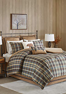 Woolrich Hadley Plaid Comforter Set
