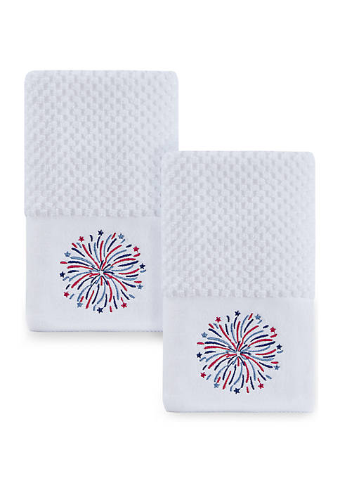 Fireworks 2 Pack Hand Towels