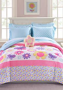 Butterfly Garden Comforter Set