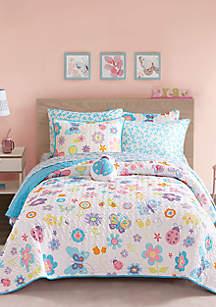 Fluttering Farrah Quilt Set