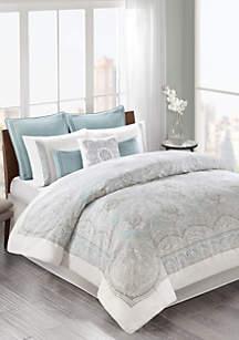 opulent design cream bedding. Echo Design  Larissa Comforter Set Designer Bedding Luxury belk