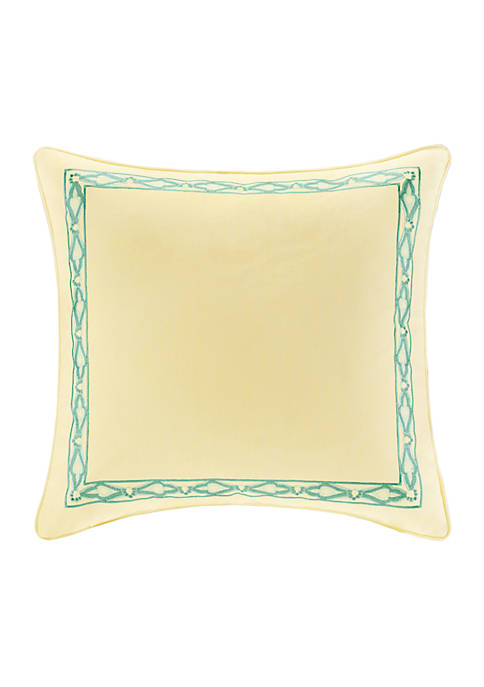 Guinevere Yellow Euro Sham 26-in. x 26-in.